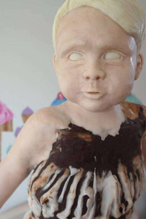 Торт принц Джордж Кембриджский (10 фото)