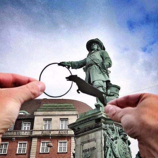Художник Rich McCor сначала ищет подходящий объект для кадра(9 фото)