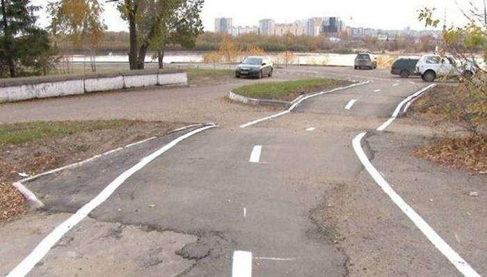 Такое можно увидеть только в России (38 фото)