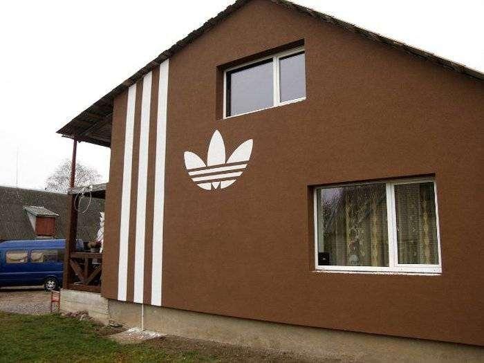 Дом «реального пацана» (10 фото)