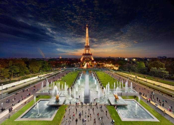 Встреча дня и ночи на удивительных панорамных снимках (12 фото)