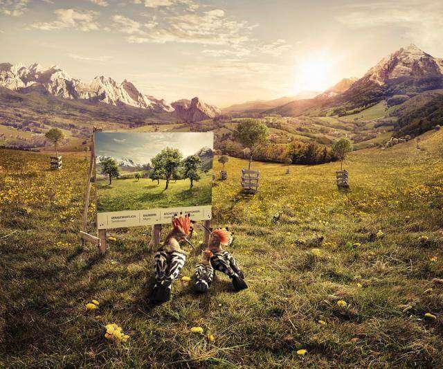 Креативная реклама – самая лучшая реклама! (10 фото)
