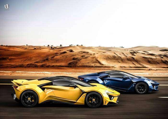 Арабы представили свой самый крутой гиперкар с максималкой свыше 400 км/ч (16 фото)