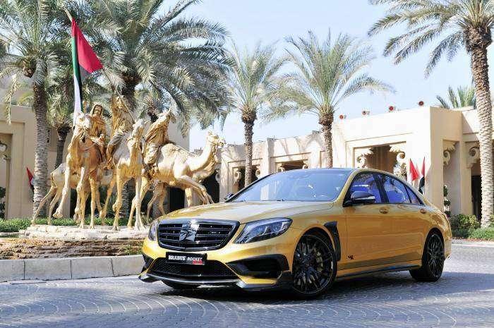 "Компания Brabus представила Mercedes S65 AMG Rocket 900 ""Desert Gold"" (26 фото)"