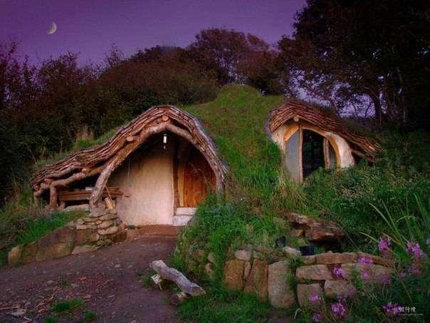 Дома, архитектором которых как будто была сама природа (9 фото)