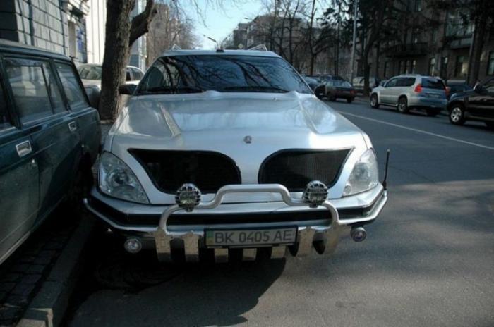 Эксклюзивный украинский лимузин (7 фото)