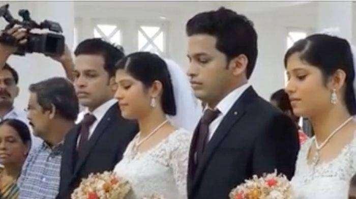Уникальная свадьба в Индии (5 фото)