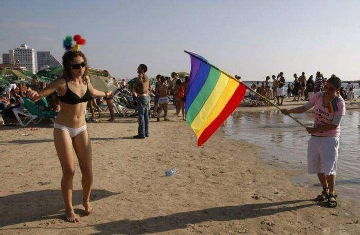 Парад гордости в Тель-Авиве (18 фото)