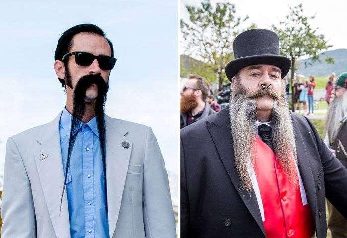 Чемпионат мира на звание лучших бороды и усов 2015  (17 фото)