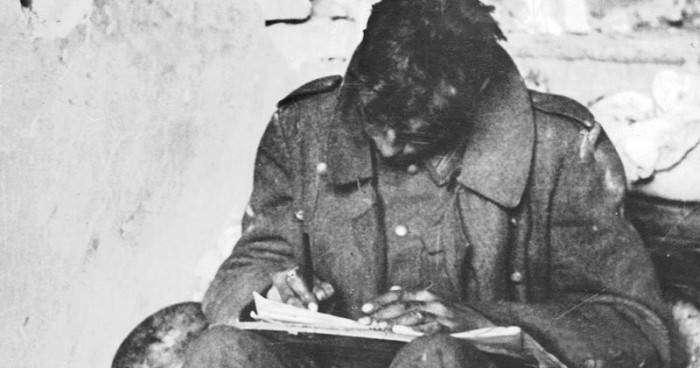 Немецкие солдаты о своем противнике - русских (11 фото)