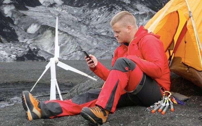 Портативный ветрогенератор  (7 фото)