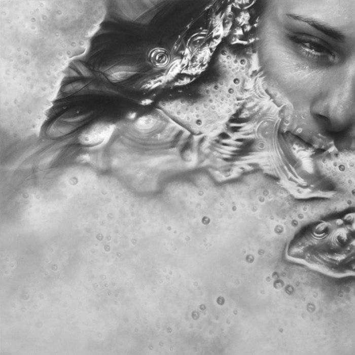 Фотореалистичные портреты графитовой пылью (12 фото)
