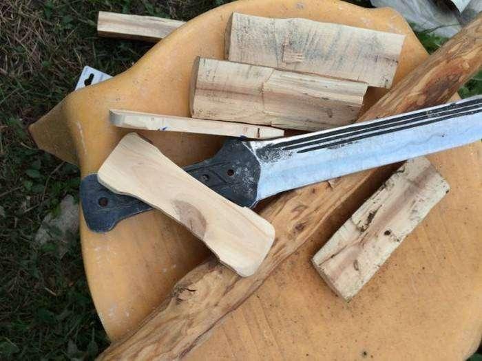 Изготовление клинков в самодельной кузнице (29 фото)