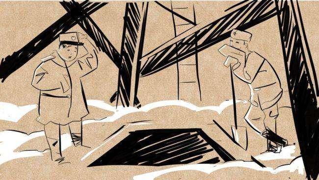 Правдивые рассказы про армию: Как вырыть окоп в бетонной плите