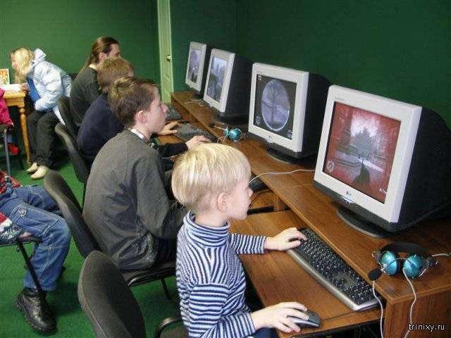 Эра компьютерных клубов (9 фото)