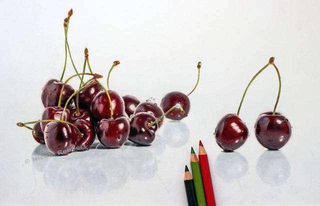 Гиперреалистичные рисунки Николь Ребберт (8 фото)