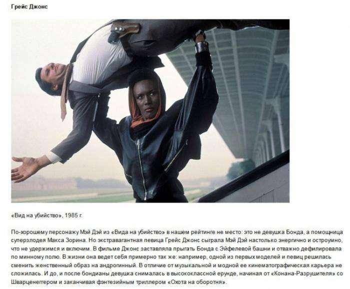 Как сложилась судьба девушек агента 007 (13 фото)