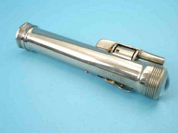 Огнестрельный фонарик начала прошлого века (5 фото)