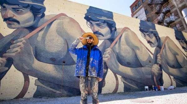 Стрит-арт свободного художника (14 фото)