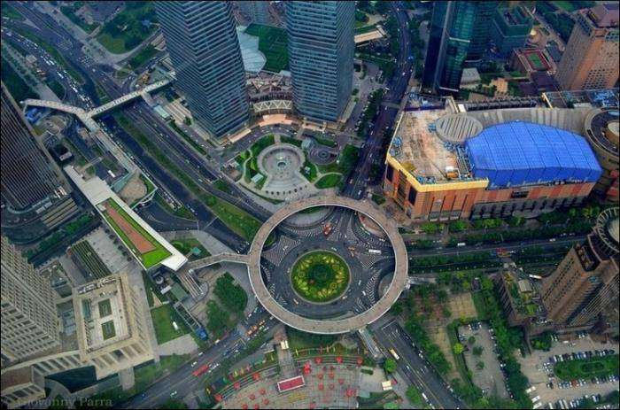 Пешеходный мост в Китае (6 фото)