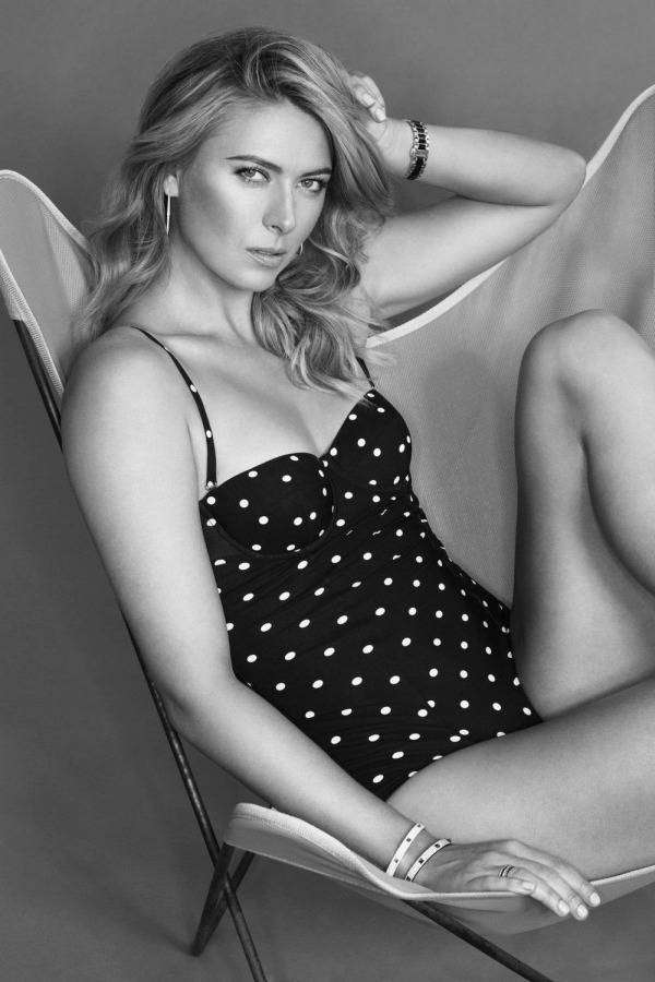Мария Шарапова снялась для журнала Esquire (5 фото)