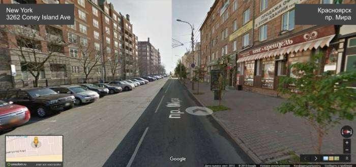 Сходство между Нью-Йорком и Красноярском (9 фото)