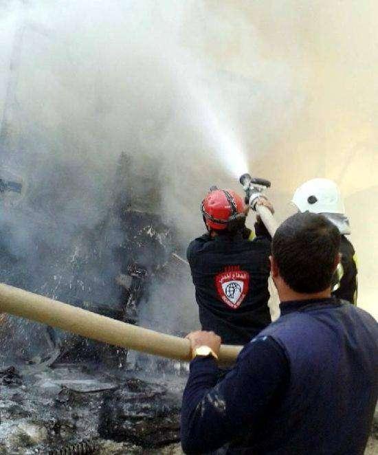 В Сирии разбомбили турецкий конвой с гуманитарной помощью (6 фото)