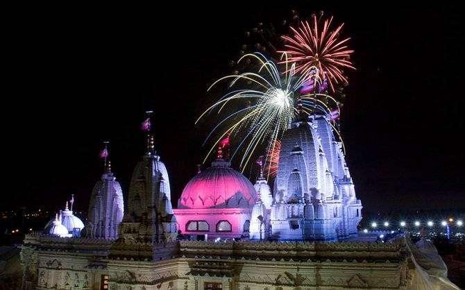 Фестиваль огней Дивали (10 фото)