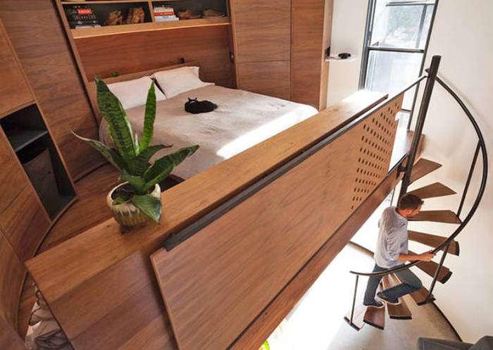 Архитектор превратил старое зернохранилище в уютный дом для своей семьи (18 фото)