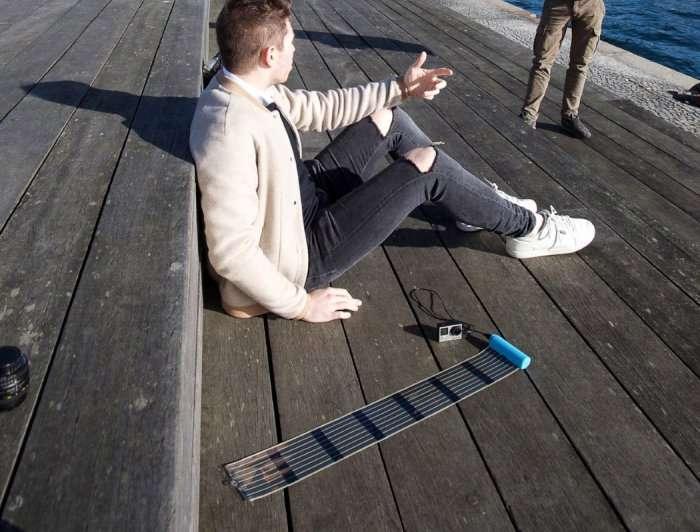 Самое компактное зарядное устройство на солнечных батареях (8 фото)