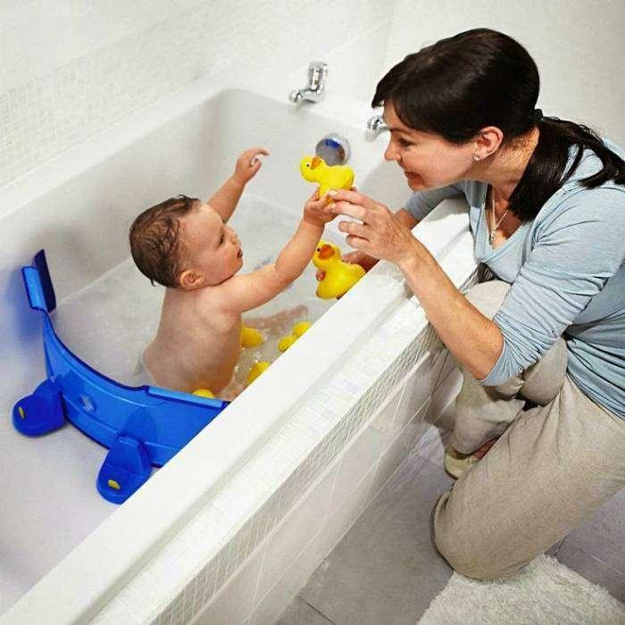 Устройство, которое поможет уменьшить объем ванны для комфортного и безопасного купания малыша.