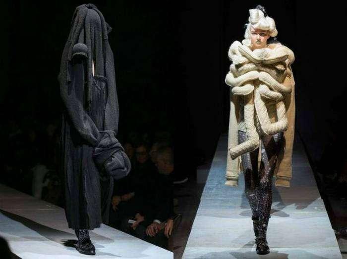 Похоже, дизайнеры заключили контракт с Леди Гагой.