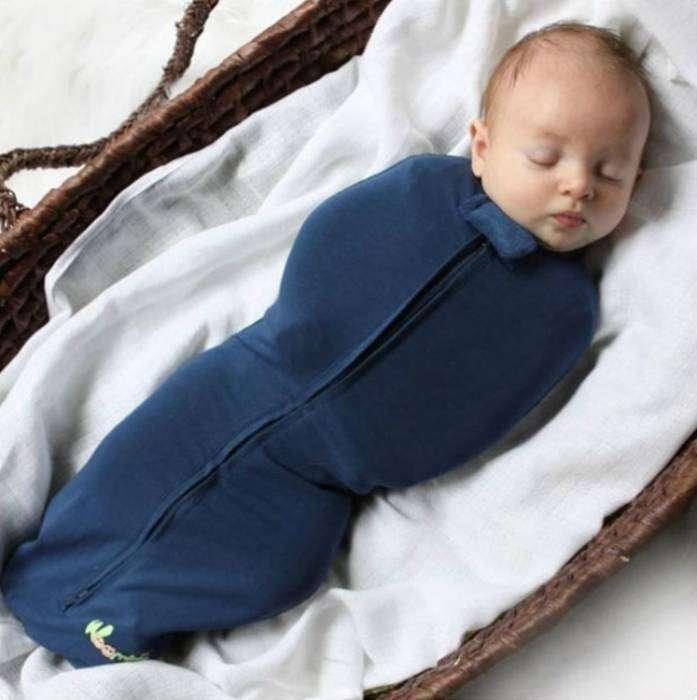 Безопасная пеленка на молнии, которая избавит молодых родителей от процедуры пеленания.