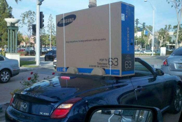 Если что, коробка не спасет!