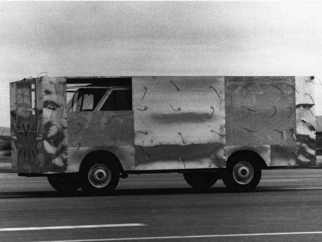 Крутые автомобили NASA: аэродинамический грузовик