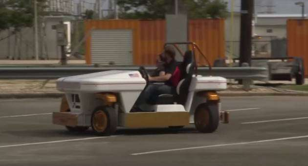 Крутые автомобили NASA: автомобиль-робот