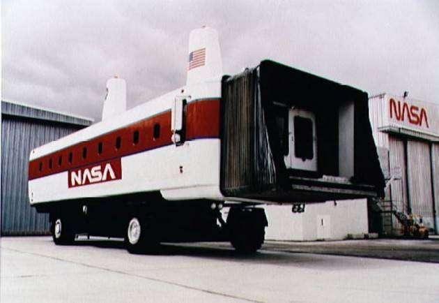 Автомобиль NASA для перевозки персонала