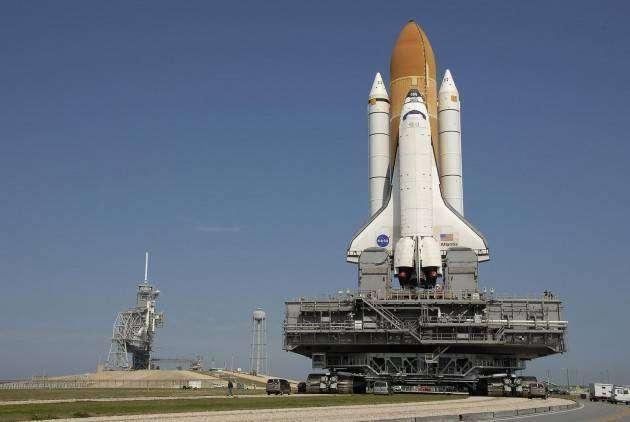 Крутые автомобили NASA: гусеничный транспортёр