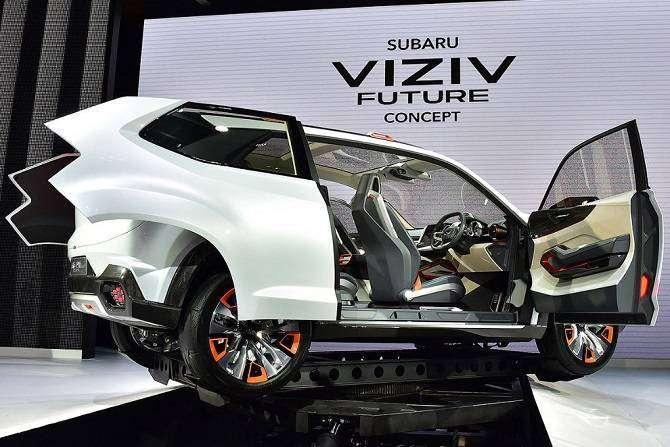 Токийский автосалон 2015: футуристические машины