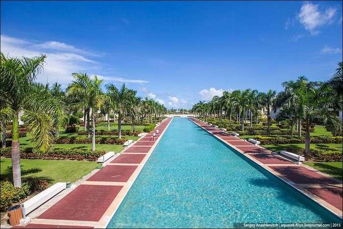 Самый крутой отель в Доминикане