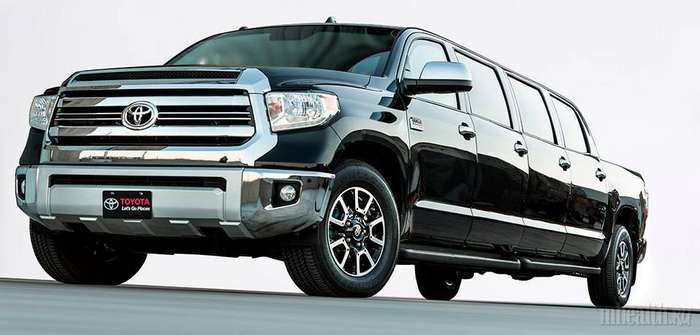 Toyota Tundrasine и еще 4 самых больших пикапа в мире