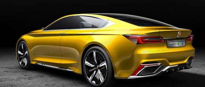 Китайцы показали потенциального конкурента Tesla — Roewe Vision-R с 540-километровым запасом хода