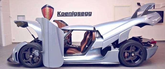 Koenigsegg превратила свой гибридный суперкар Regera в трансформер