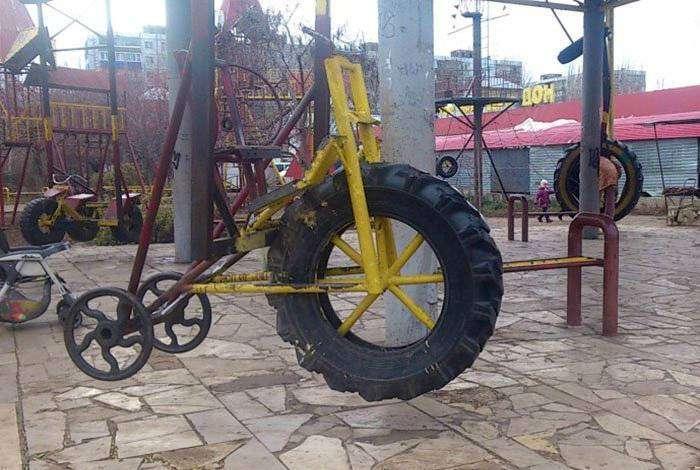 Велотренажер по-русски.