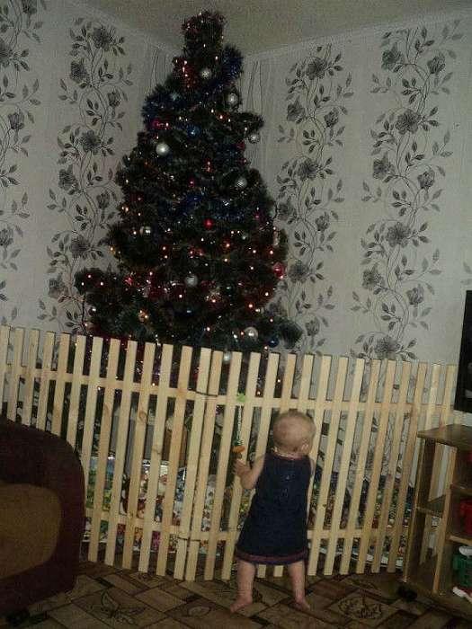 «Я требую, чтобы елку немедленно выпустили из-за решетки!»