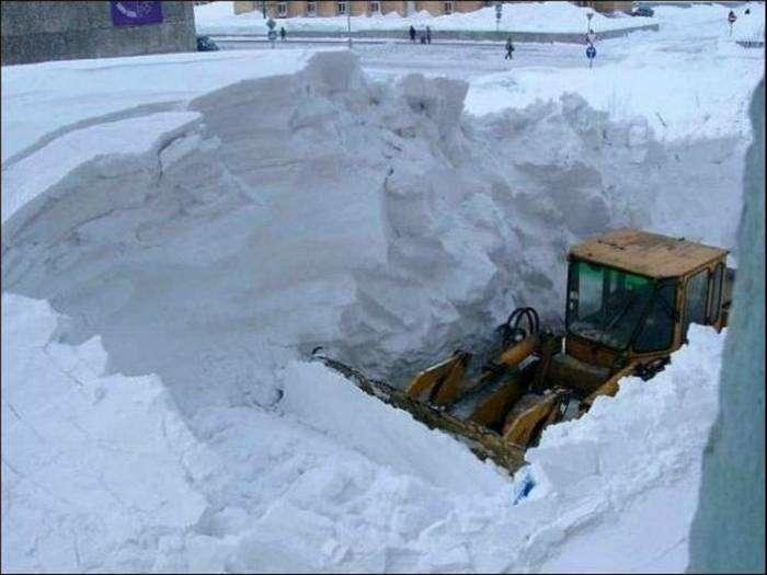 Снежные ловушки и дороги с сюрпризами.