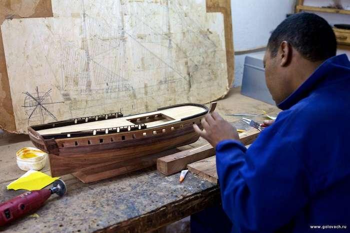 Изготовление своими руками моделей кораблей из