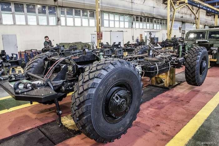 ГАЗ-2330 «Тигр». Сборка и небольшой тест-драйв