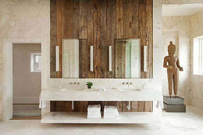 Интерньер ванной от Frank de Biasi Interiors