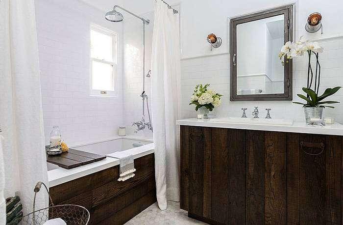Интерьер ванной от Laura Schwartz-Muller